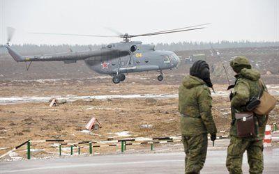 壁紙をダウンロードする 陸軍, ロシア空軍, 軍用機