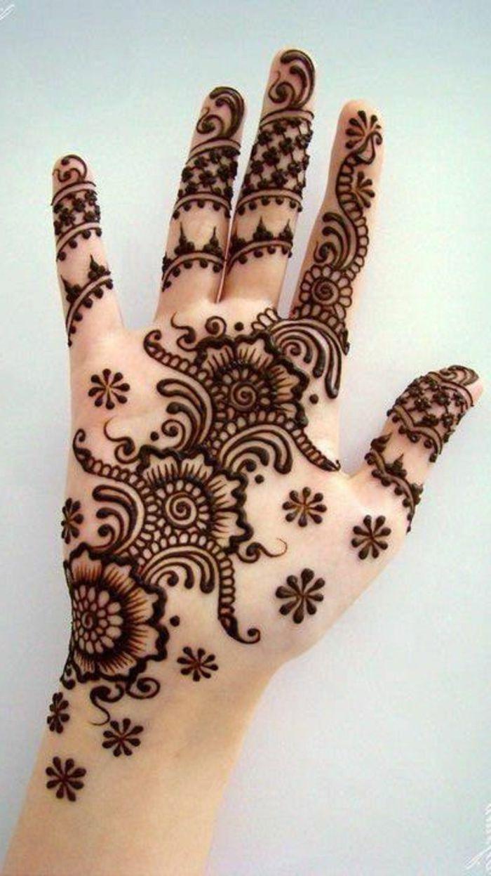 Muchas ideas de tatuajes de Henna para mujeres con fotos de los diseños más interesantes, cómo se hace la henna y cómo se usa, todo lo que tenéis que saber