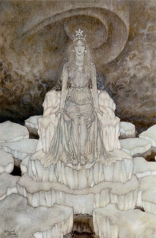 The Snow Queen by Edmund Dulac                                                                                                                                                                                 More