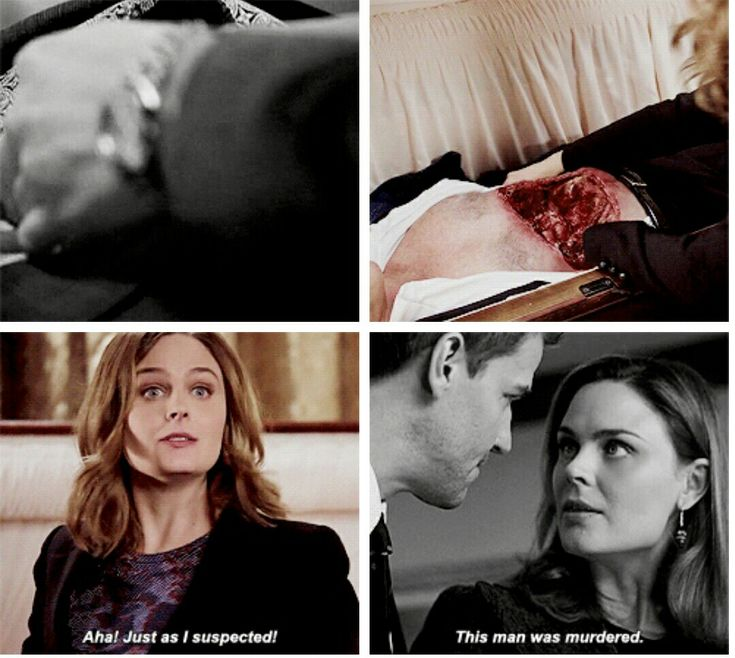 Booth and bones in bed #2