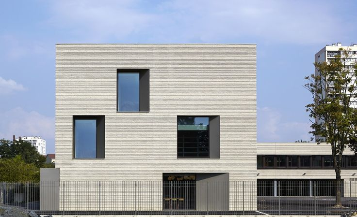 The Romain Rolland Elementary School  / Babled Nouvet Reynaud Architectes