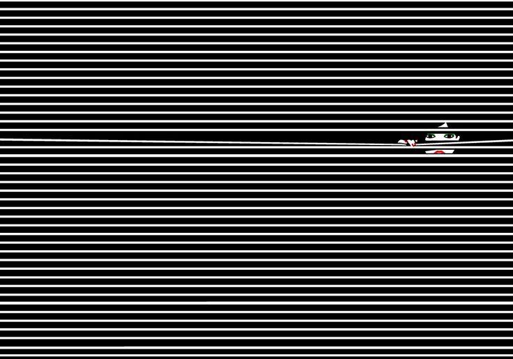 Hide & Seek — Malika Favre | Stripes | Striped art