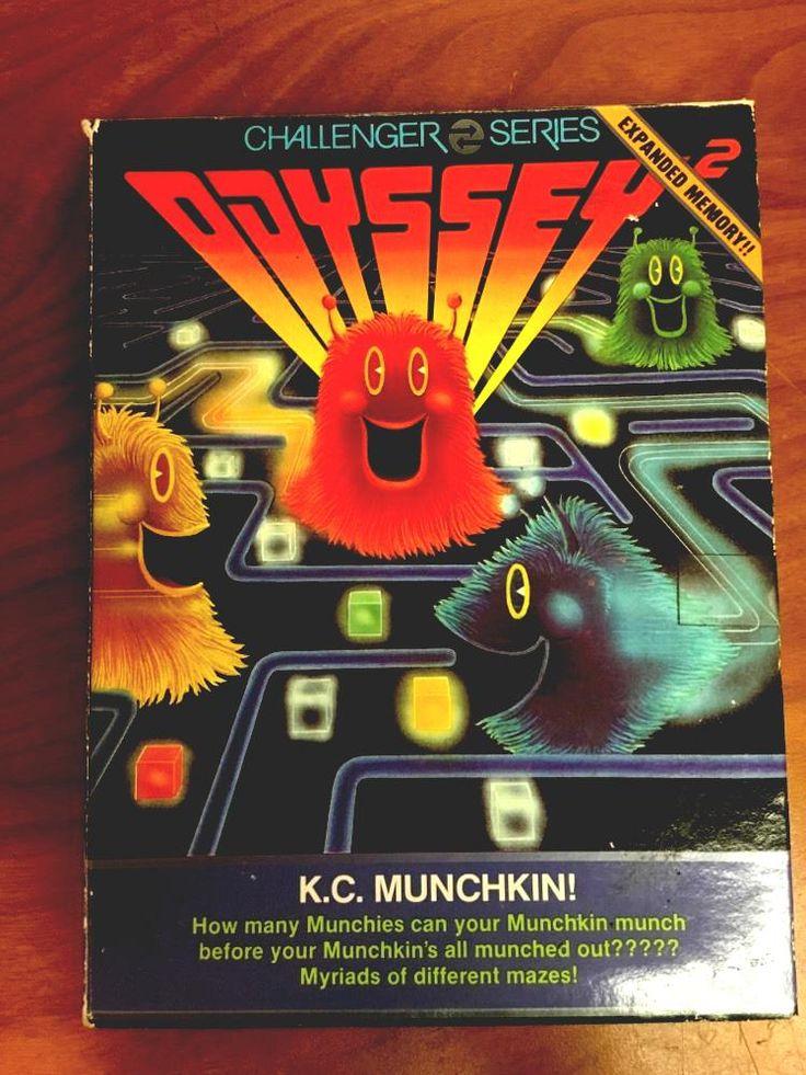 Vintage magnavox odyssey 2 - k.c. munchkin video game from $899