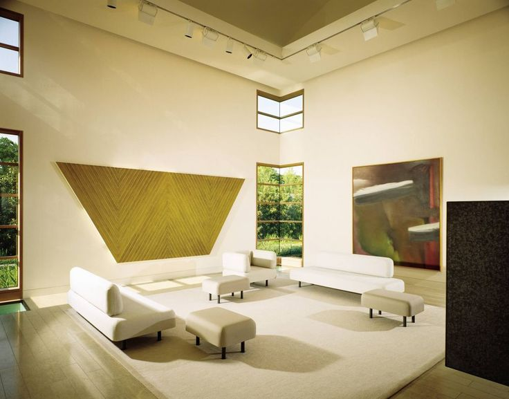 Contemporary Living Room By Andre Putman And Bill Booziotis In Dallas Texas