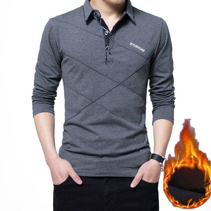 SportsX Mens Oversize Cargo Pocket Turn Down Collar Tshirt Shirt