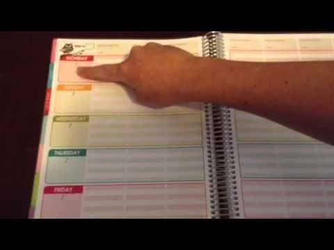 2013 Erin Condren Teacher's Lesson Planner