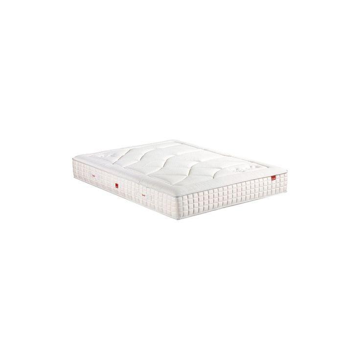 Matelas EPEDA APICURIA - 900 ressorts ensachés - Hauteur 29 cm - 7 zones de confort - Accueil enveloppant et soutien équilibré