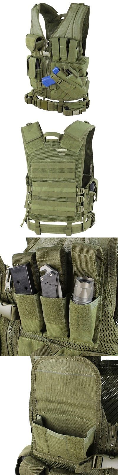 Other Hunting Clothing and Accs 159036: Condor Cv Crossdraw Assault Tactical Vest Chest Rig W Molle Od Green Size M L -> BUY IT NOW ONLY: $62.95 on eBay!