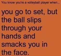 Volleyball quotes - Been there, done it...several times!