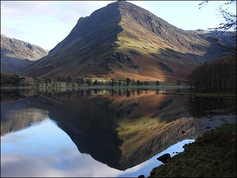 Buttermere looking to Fleetwith Pike