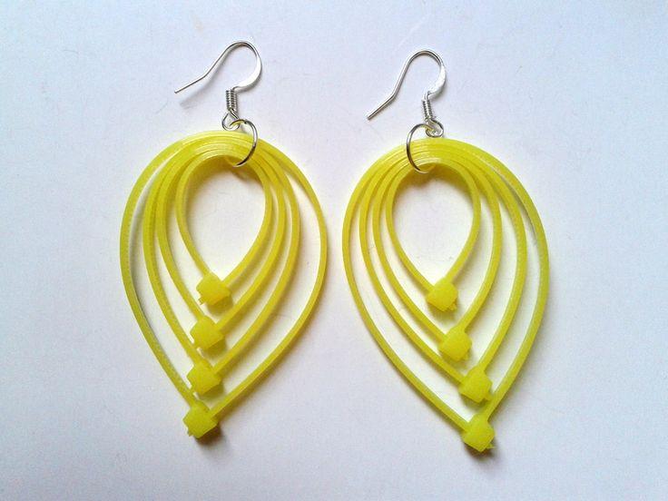 EKO - cable-ties earrings DaWanda.com