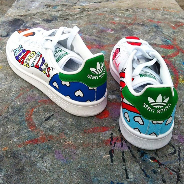 Adidas Originals Stan Smith Customs | Customiser chaussures ...