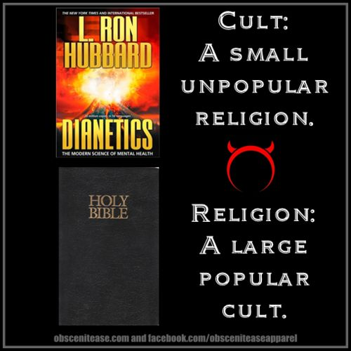 Image result for religion vs cult