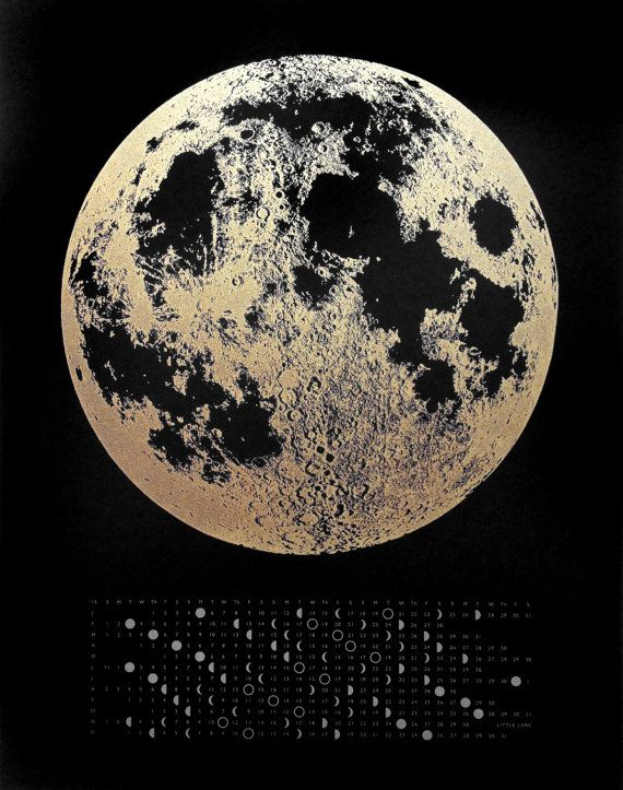 Get your order in today for a new 2017 Moon Calendar! We will have these ready to ship out in August. ♥ - - - - - - - - - - - - - - - Simple, scientific, modern and beautiful. Make a statement in your house with this gorgeous art print!  Make year 2017 a year were you keep track of full and new moons, plus also know the day of the week. These small wall calendars are hand printed on sturdy 11 x 14 paper. Paper is a high quality, pH neutral, and 30% PCW. Print looks great both pinned up or…