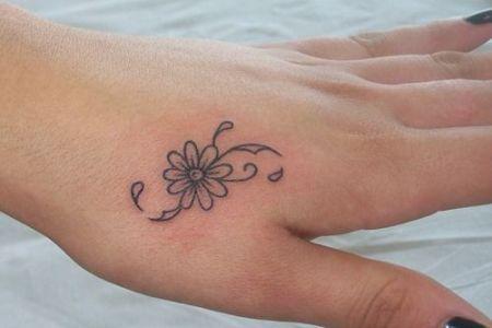 ... 9303e361b69fe0e1fc43f28fdcbd5a05 simple hand tattoos hand tattoos for  girls ...