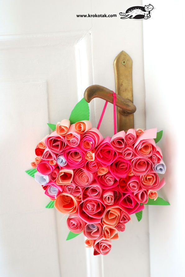 Floral Heart for #mom