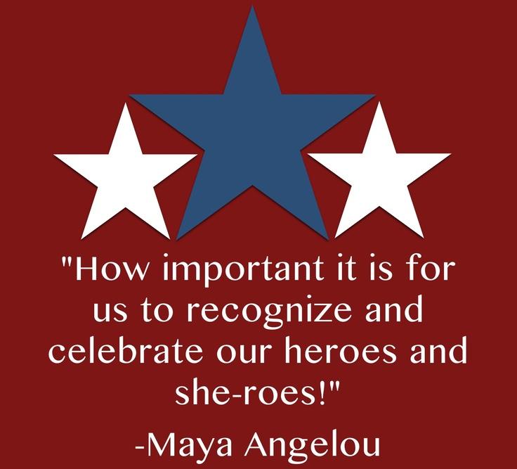 memorial day quote maya angelou