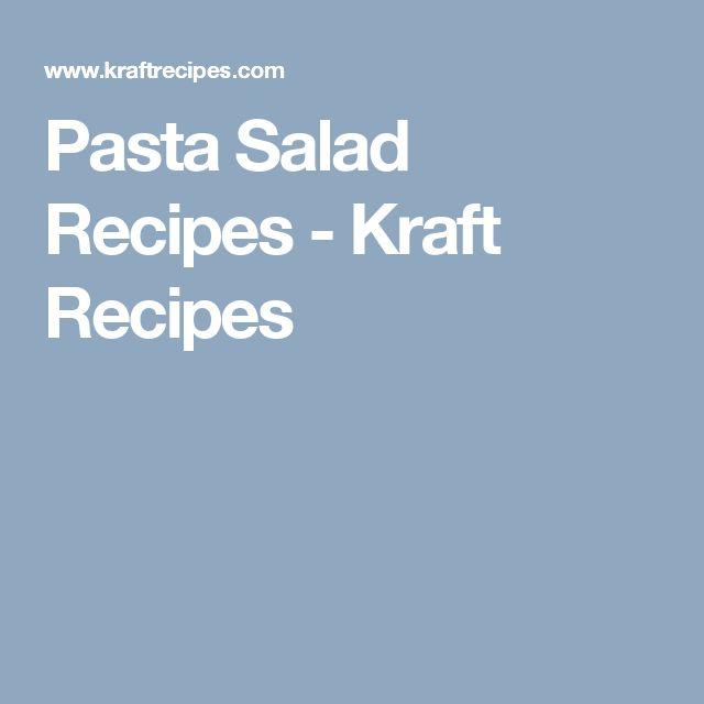 Pasta Salad Recipes - Kraft Recipes