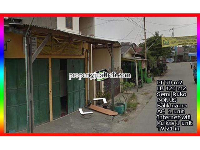 Rumah Semi Ruko Pinggir Jalan Kutabumi TNG