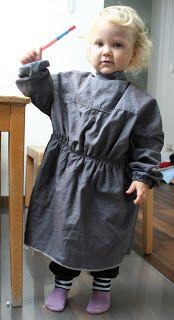 Malkittel aus alten Hemden von http://all-taeglich.blogspot.de