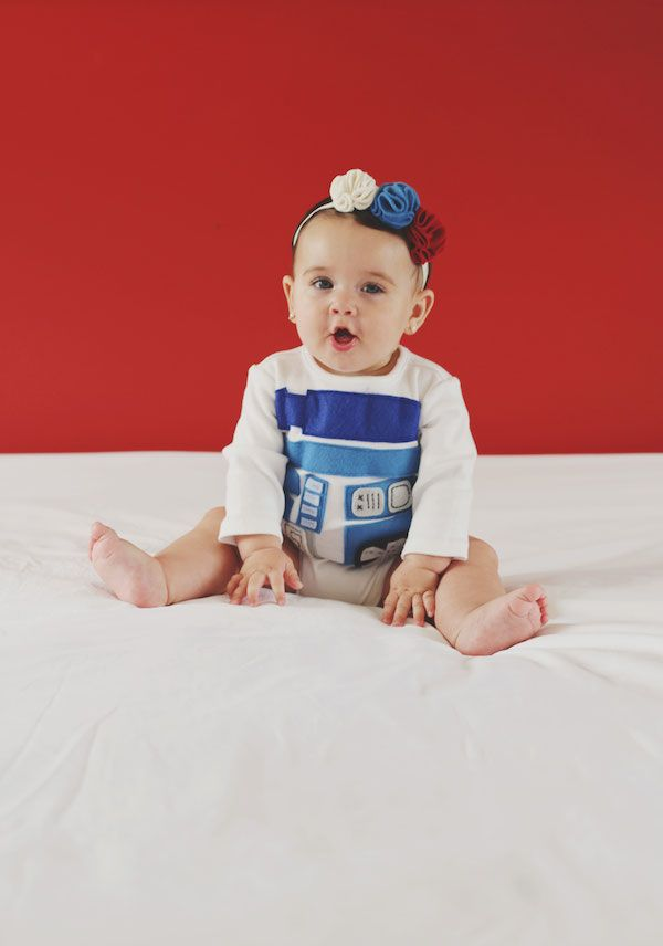 DIY R2D2 Onesie | Heartmade Blog