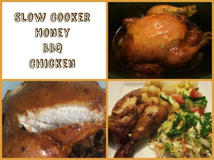 Honey BBQ Whole Chicken  