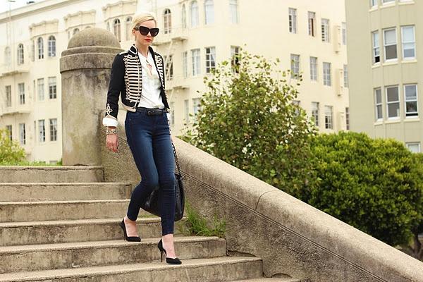 Aline Amthor: My style: Military Jackets, Military Styles, Navy Jeans, Bomber Jackets, Gap Kids, Jackets Jeans, Old Navy, Military Chic, Army Jackets
