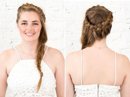 Hair Tutorial: How To Make A Braided Headband With Your Own Hair