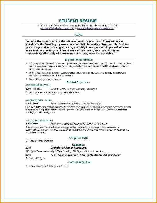 Resume Examples For 14 Year Olds Resume Examples Pinterest
