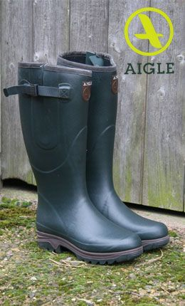 #Aigle Wellington Boots