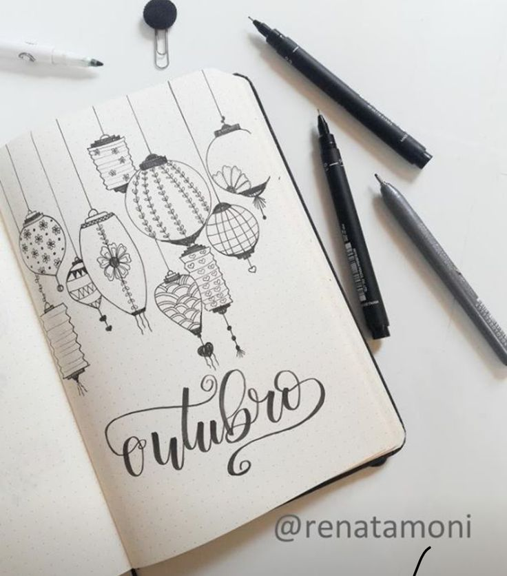 777 best Bullet Journal Layouts and Doodles images on Pinterest ...