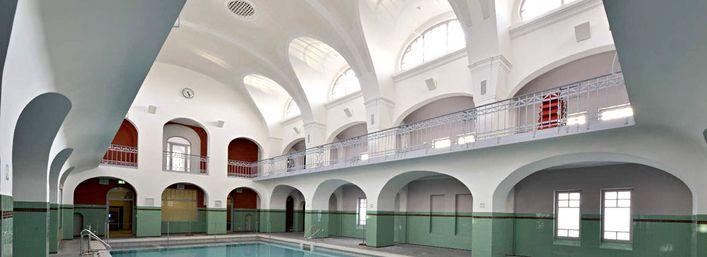 Art-style bath: Stadt-Bad Gotha