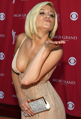 Kellie Pickler-love the music but I also love the sass!  One funny lady.