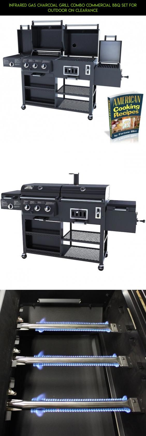Infrared Gas Charcoal Grill Combo Commercial BBQ Set For Outdoor On Clearance #charcoal #parts #kit #shopping #on #clearance #fpv #plans #camera #tech #gadgets #technology #drone #grills #racing #products