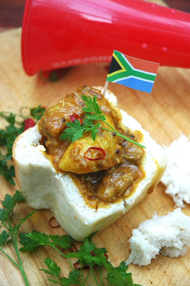 Bunny Chow - South African street food | My easy cooking by Nina Timm.