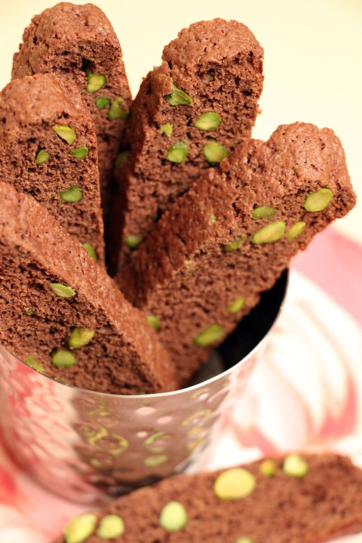 Recipe for Chocolate Pistachio Biscotti from Heart & Soul ...