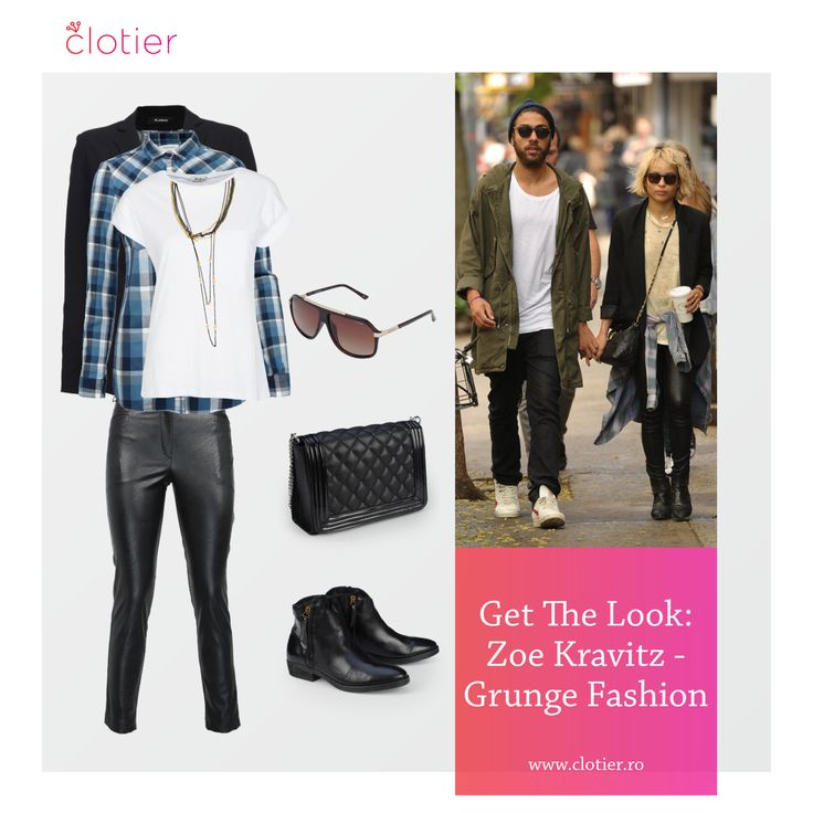 Get The Look: Zoe Kravitz – Grunge Fashion ‹ Clotier  http://www.clotier.ro/blog/2014/11/05/get-the-look-zoe-kravitz-grunge-fashion/?utm_source=Pinterest&utm_medium=Board&utm_campaign=Blog%20Clotier&utm_content=Get%20the%20look