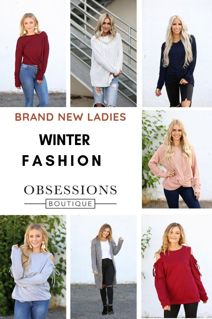 Discover new winter ladies clothing styles for you right at your
