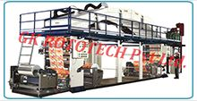 We offer a wide range of Laminating and Coating Machine in various Models. The various exchangeable costing systems that our lamination machines use are capable of producing Multi-layered laminates. The lamination machines use are capable of producing multi-layered laminates. The laminating and Coating Machine are highly durable, reliable, dimensionally accurate corrosion & abrasion resistant. These machines are available in various web widths as mentioned.