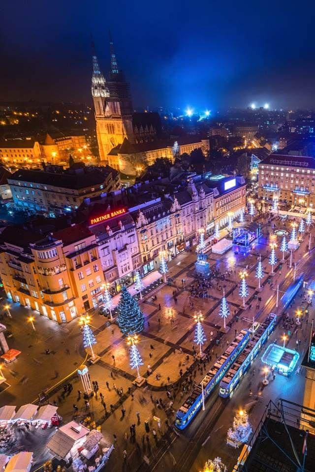 Marches De Noel A Zagreb Une Somptueuse Periode De L Avent Avec Des Animations Feeriques Zagreb Vacances Croatie Marche De Noel