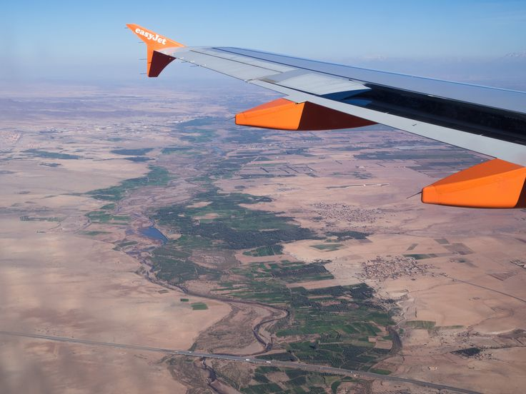 https://flic.kr/p/Gx5AoS | Extreme Environments - It is green where the water is! Flying over a Moroccan river's course