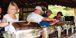 bali rafting - lunch