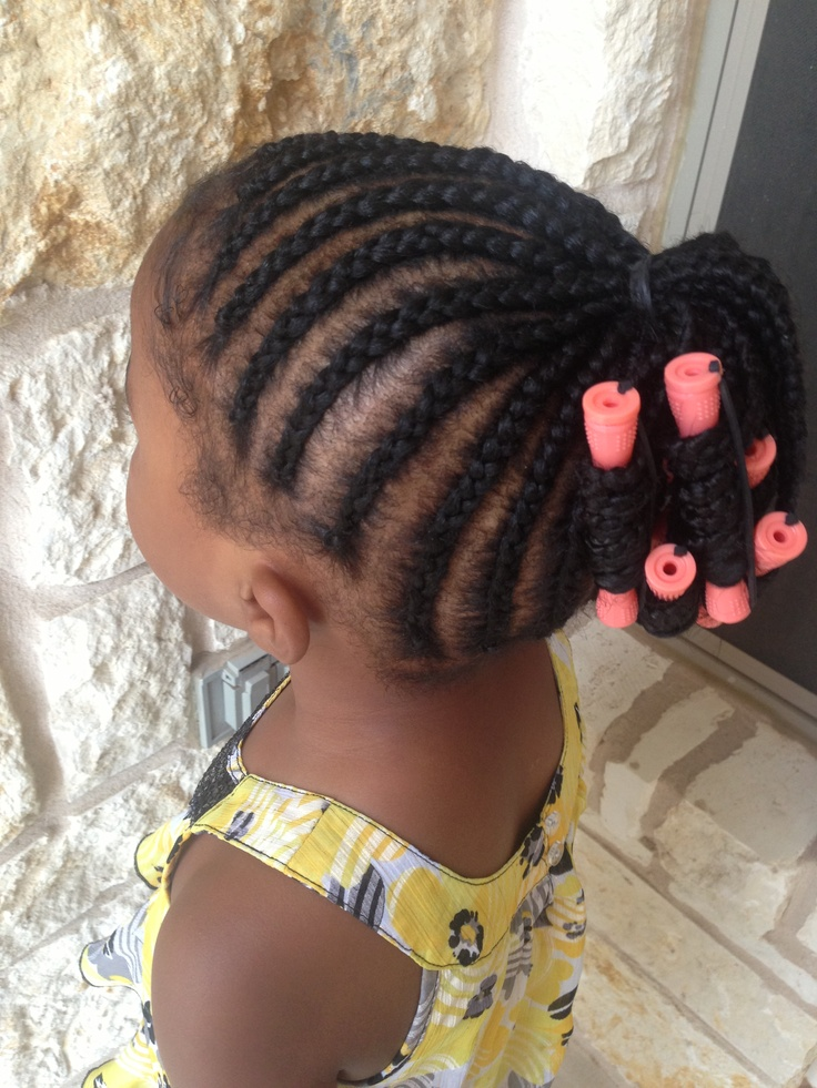 Incredible 1000 Images About Little Girls Braid And Twist Styles On Short Hairstyles For Black Women Fulllsitofus