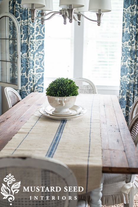 Dining Room Summer KitchenThe RunnerMiss Mustard SeedsBeauty
