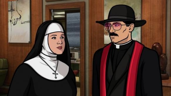 """Archer Season 4, Episode 11 Review: """"The Papal Chase"""""""