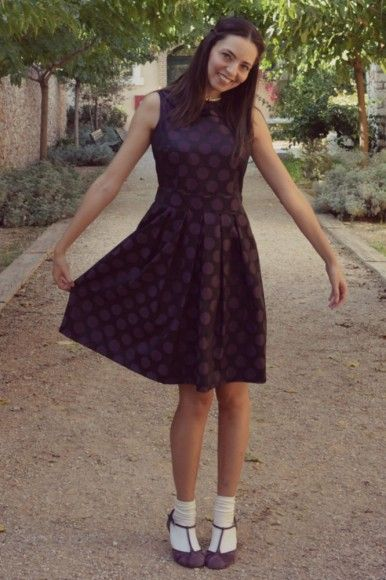 #polka dot #dress by @helmi tamam - Be Different  as worn on lagrecejaime.com #supportgreekfashion #greece