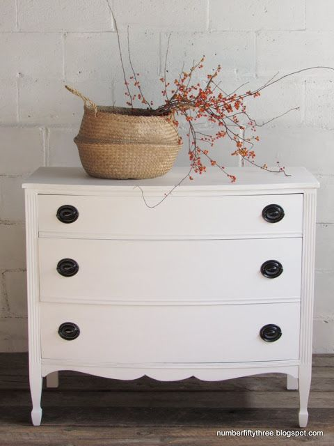 Genial Number Fifty Three: How To Paint Mahogany Furniture White