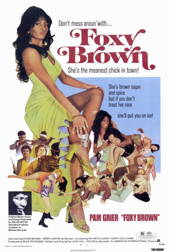 Foxy Brown 11x17 Movie Poster (1974)