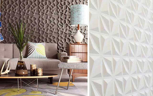 43 mejores ideas sobre texturas y acabados en pinterest - Placas para decorar paredes ...