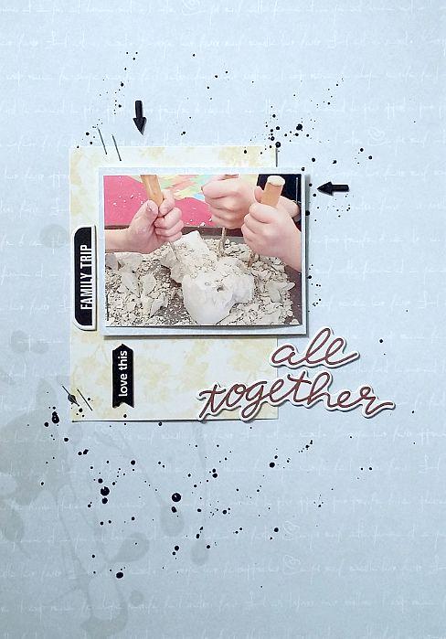 all together lo scrap wakacyjne wspomnienia